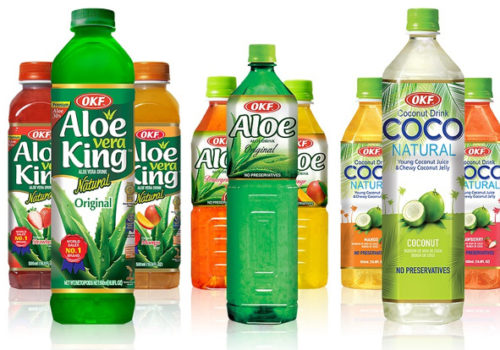 OKF – Aloe Vera Juices, South Korea