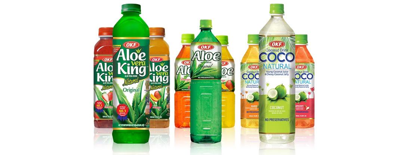 OKF – Aloe Vera Juices, South Korea